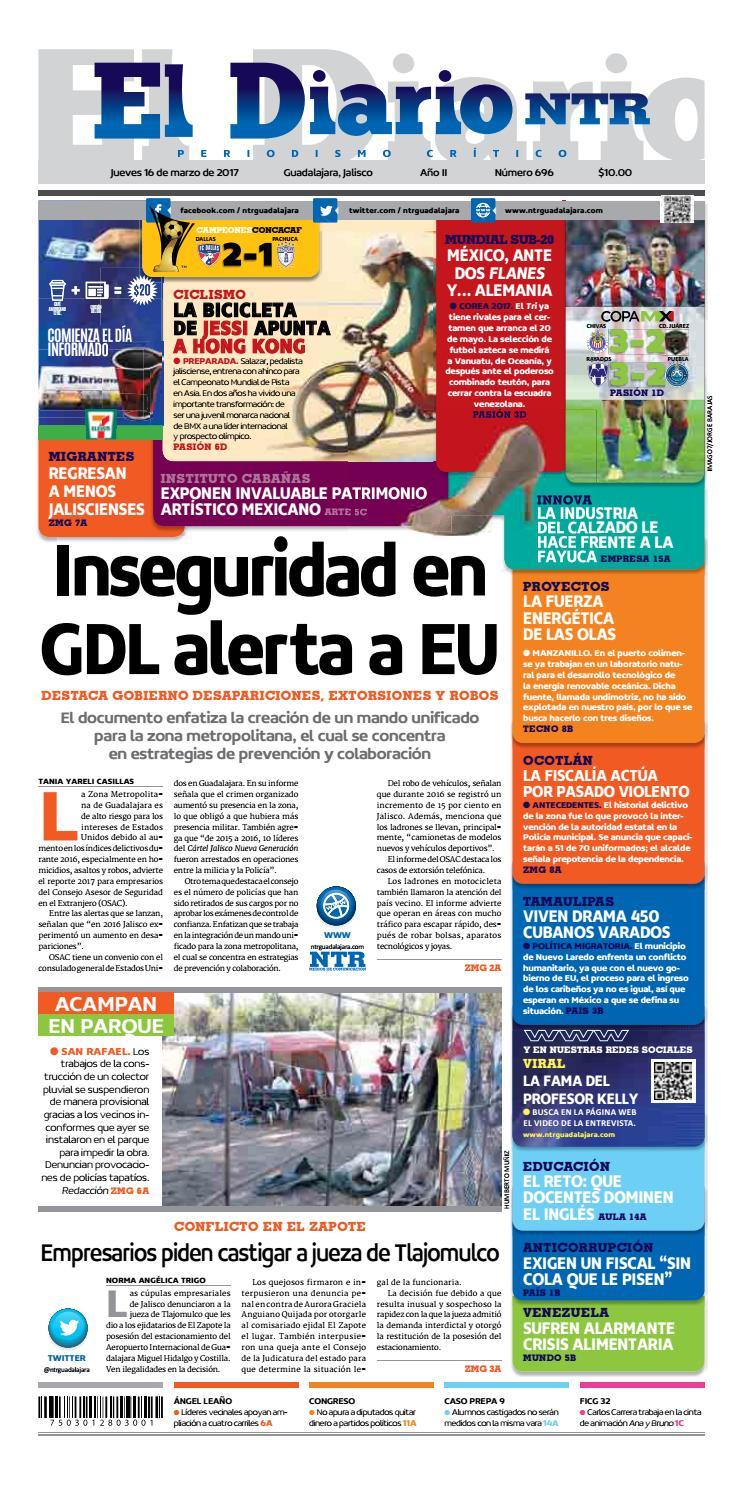 El Diario NTR 696 by NTR Guadalajara - issuu 1ec64409fbb