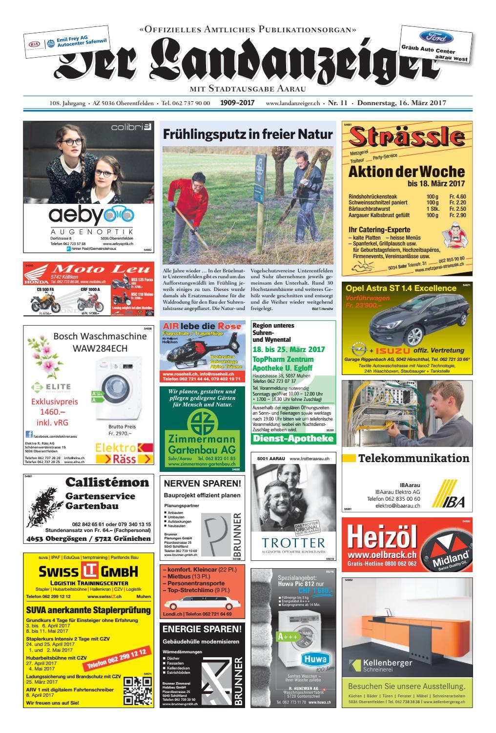 lovely einfache dekoration und mobel nachhaltiges wohnen neugrueen in mellingen #1: Der Landanzeiger 11/17 by ZT Medien AG - issuu