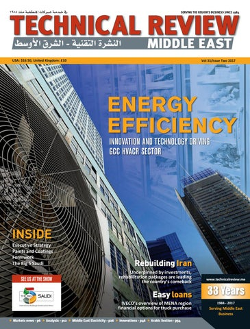 3f1cf2460 Technical Review Middle East 2 2017 by Alain Charles Publishing - issuu
