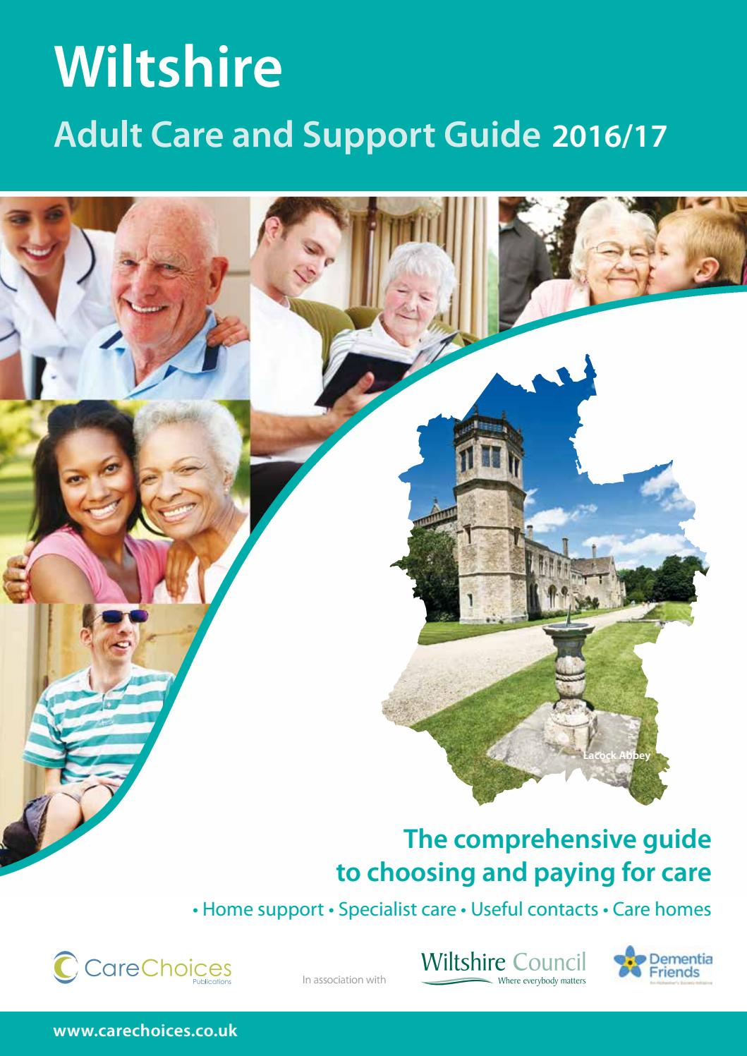 Lower meadow is a 40 capacity stratford care home that looks to take a - Wiltshire Adult Care And Support Guide 2016 17 By Care Choices Ltd Issuu