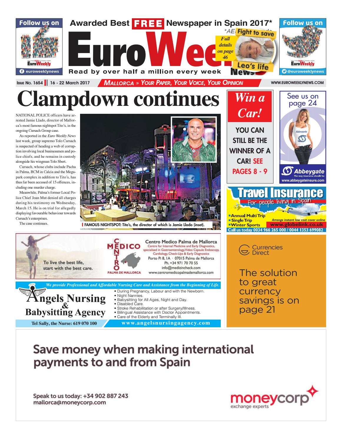 english newspaper mallorca mallorca news com mallorca 16 22 2017 issue 1654