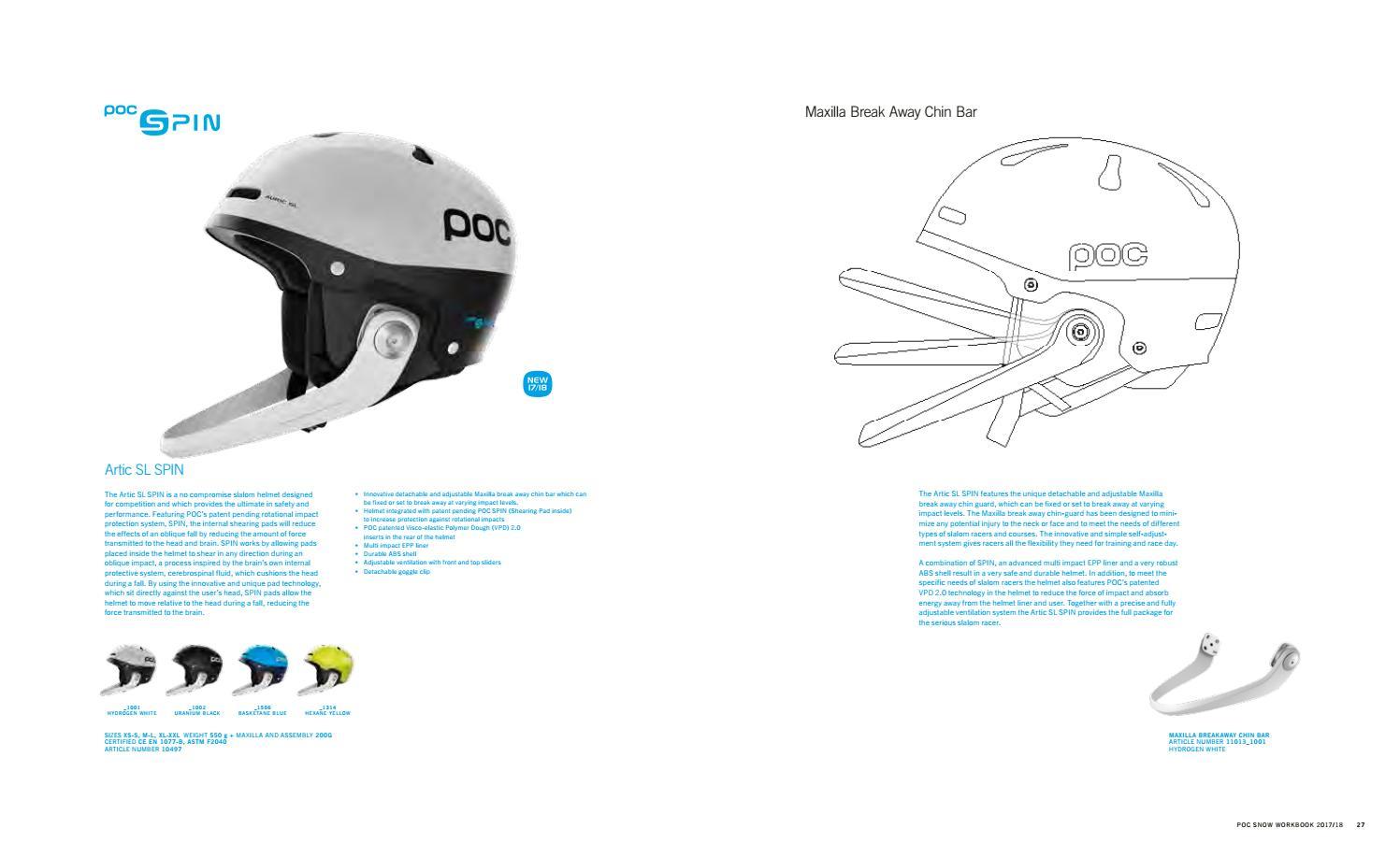 POC katalog 2017-2018 by skirace sk (professionalsport