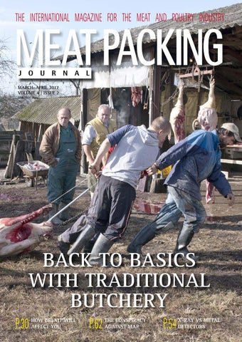 Meat Packing Journal Mar Apr 2017 Iss 2 Vol 4 By Reby Media Issuu