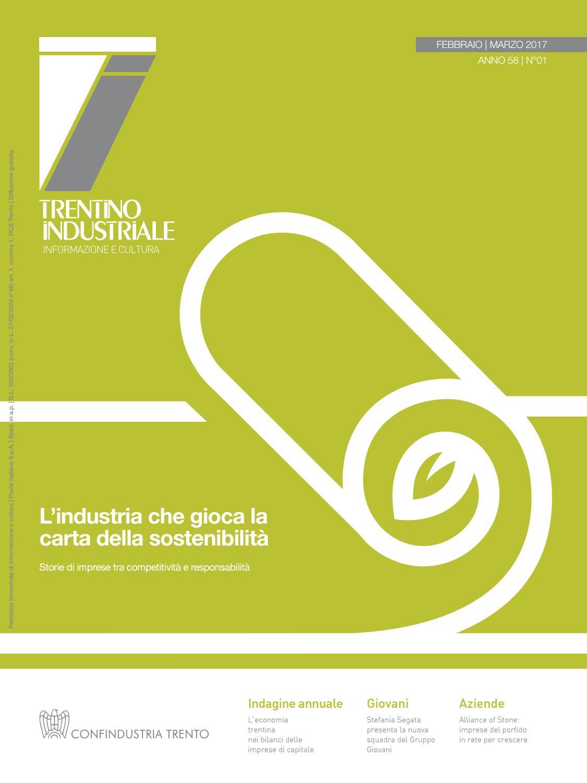 feb3523c74beb Trentino Industriale febbraio-marzo 2017 by Confindustria Trento - issuu