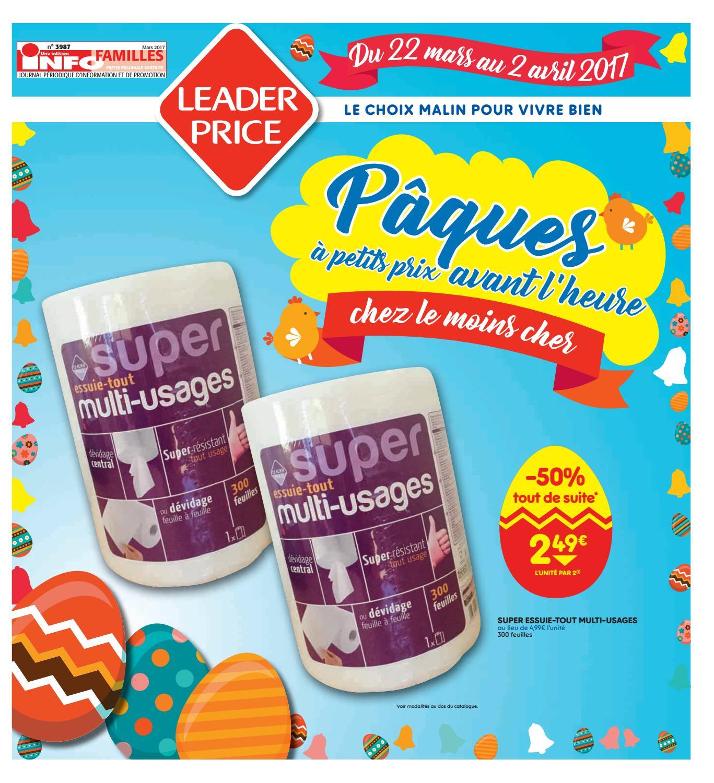 Leader Price Frappe Fort 22 03 2017 02 04 2017 By Djm