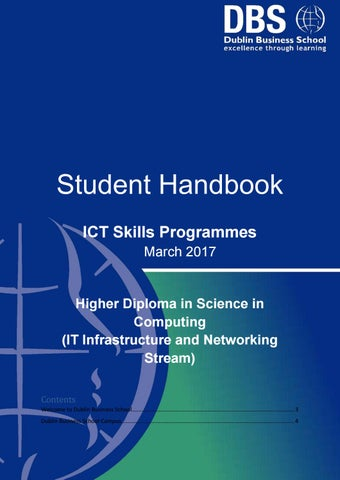 Ict it infrastructure stream student handbook march 2017 ft by page 1 fandeluxe Images