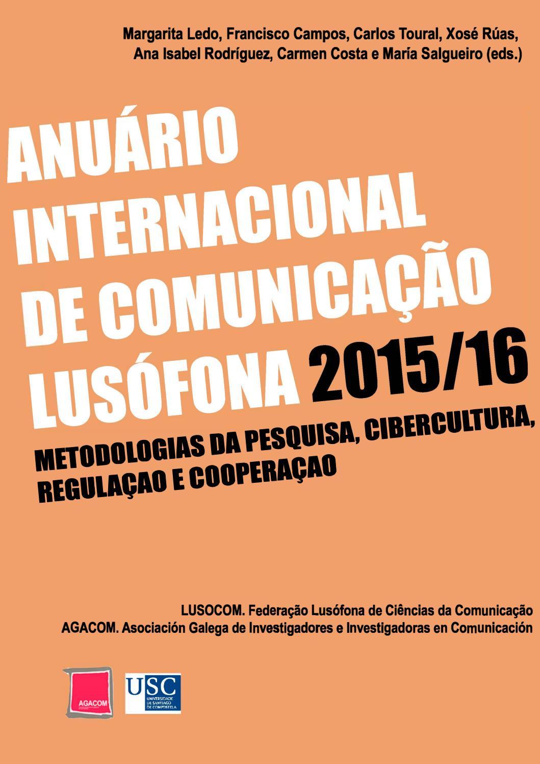 Anuário Internacional de Comunicação Lusófona 2015/2016 by