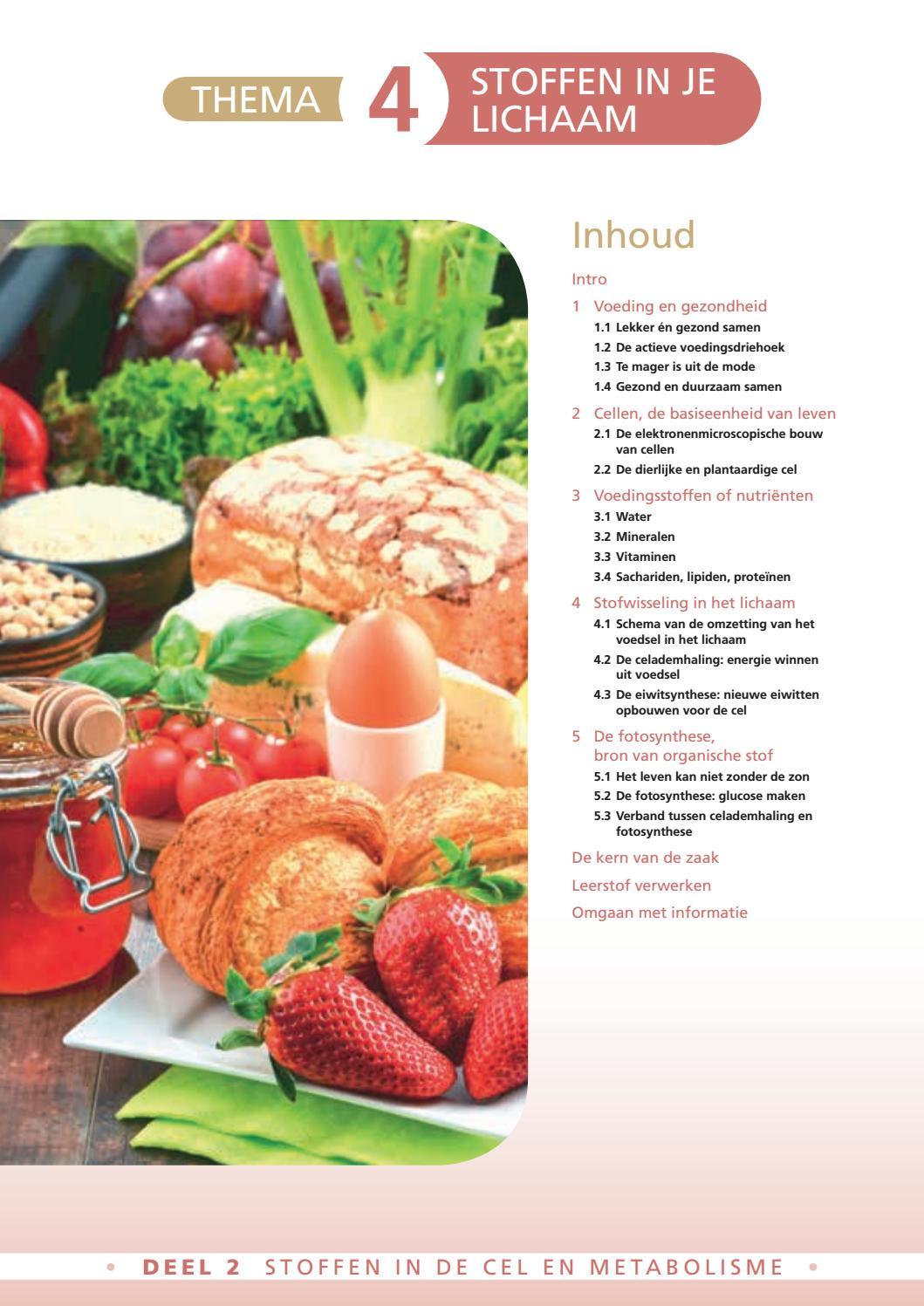 proteïnen in welke voeding