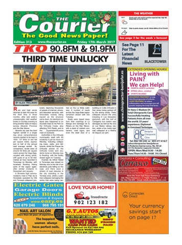 The Courier Edition 313 By The Courier Newspaper Issuu