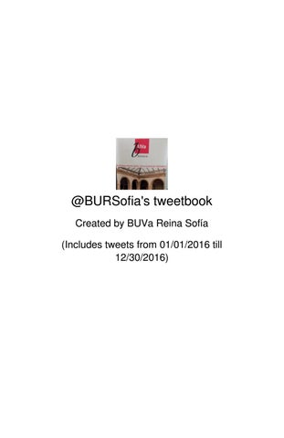 88eb05f3 Twitter 2016 by BURSofia Biblioteca General UVA - issuu