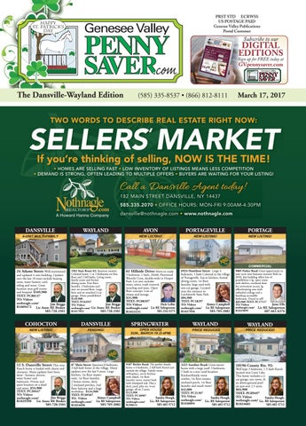 The Genesee Valley Penny Saver Dansville Wayland Edition 3