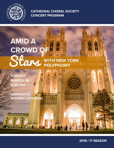 c6e124cbbfa58 Amid a Crowd of Stars Program by cathedralchoral - issuu