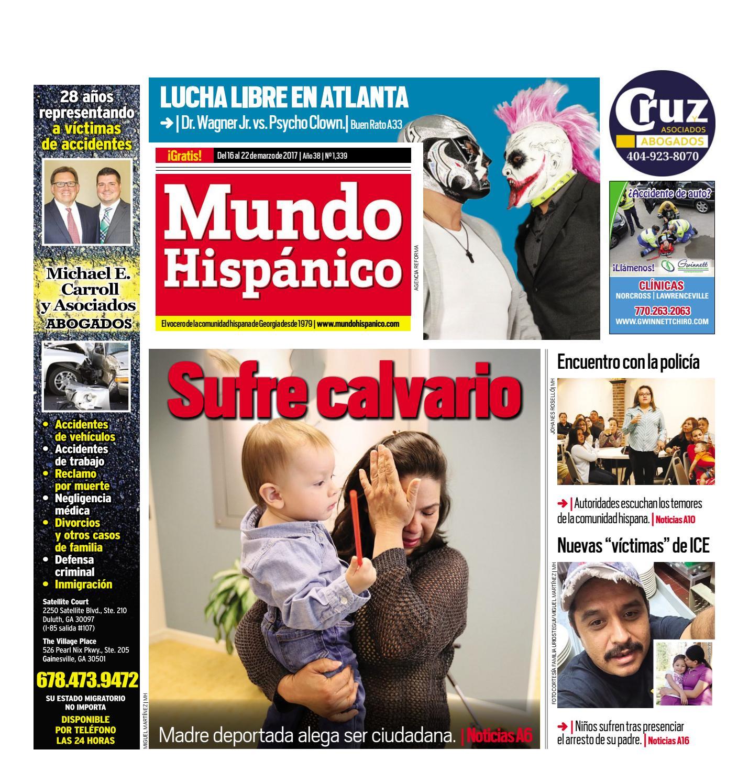 Sufre calvario by MUNDO HISPANICO - issuu
