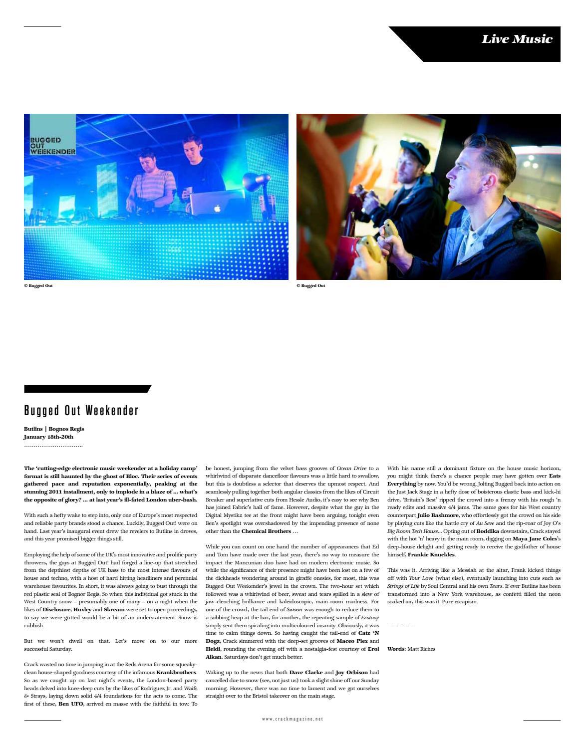 CRACK Issue 27 by Crack Magazine - issuu