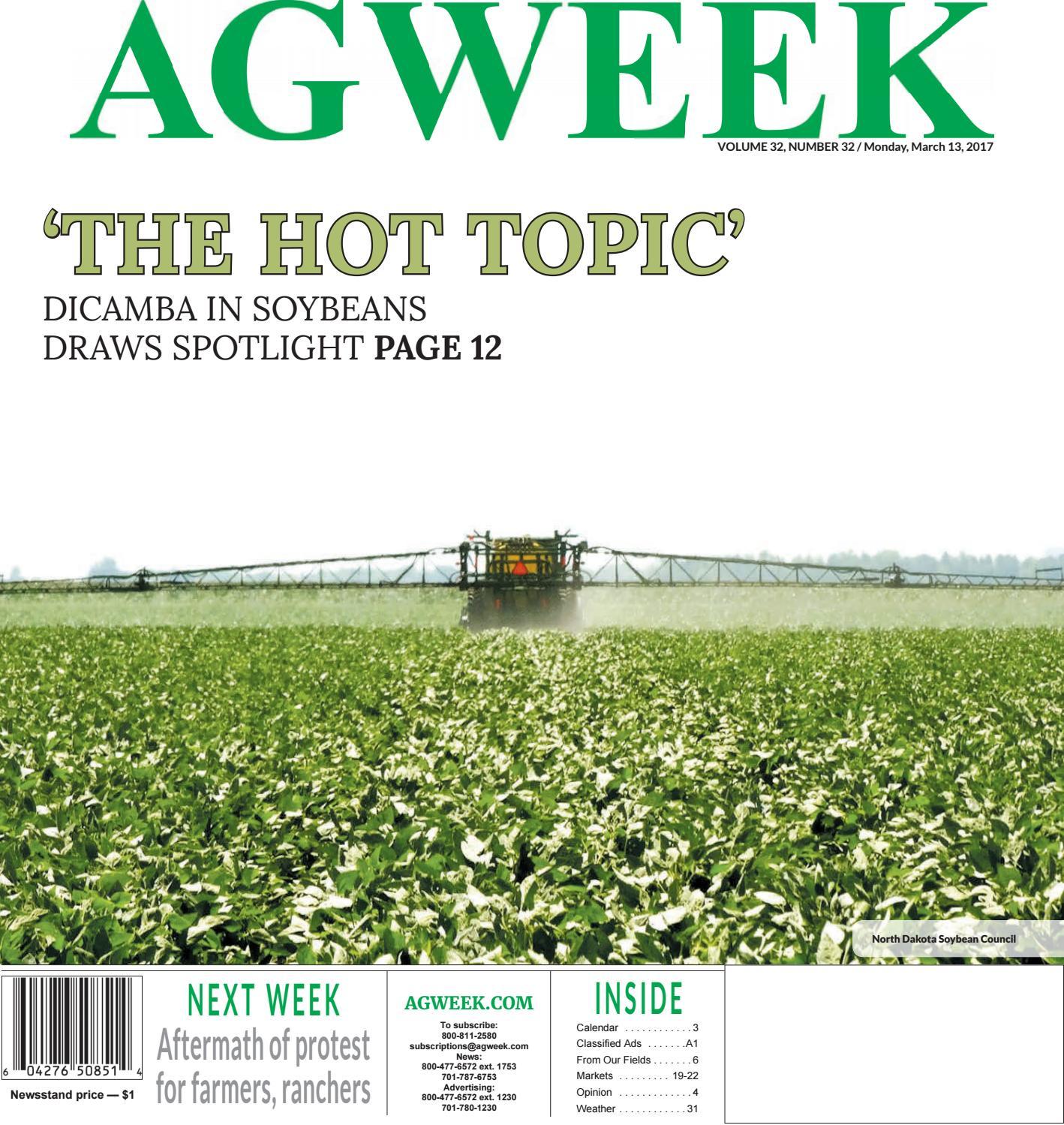 Agweek 2017 03 13 by Prairie Business Magazine - issuu