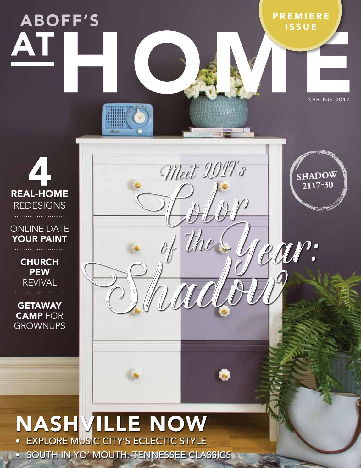 Aboff 39 s at home spring 2017 by at home magazine issuu - Benjamin moore regal select exterior ...