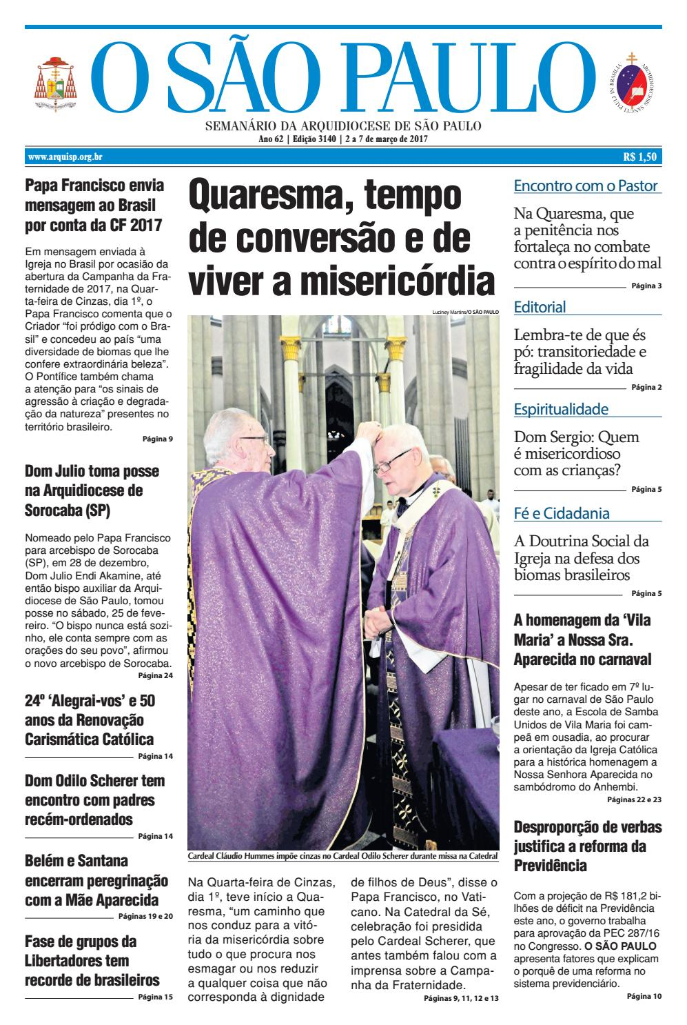 O SÃO PAULO - 3140 by jornal O SAO PAULO - issuu bdf8ff1e4d8