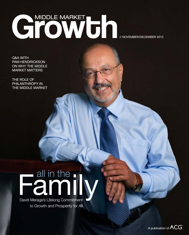 Middle Market Growth - November/December 2013 by Association