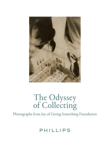 THE ODYSSEY OF COLLECTING PHOTOGRAPHS FROM JOY GIVING SOMETHING