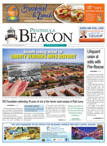 The Peninsula Beacon, March 16th, 2017 by San Diego