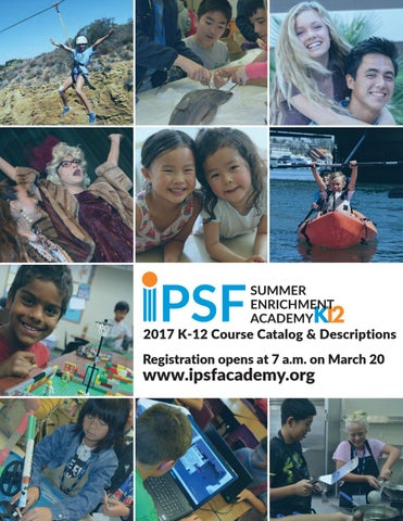 Irvine Public Schools Summer Programs 2017 by IPSF - issuu