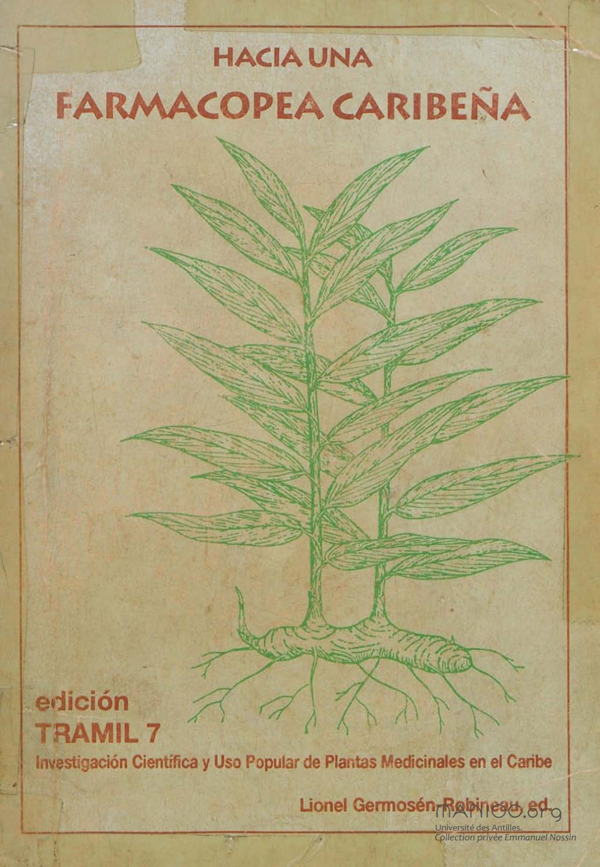 Hacia una farmacopea Caribeña by Bibliothèque numérique Manioc / SCD ...