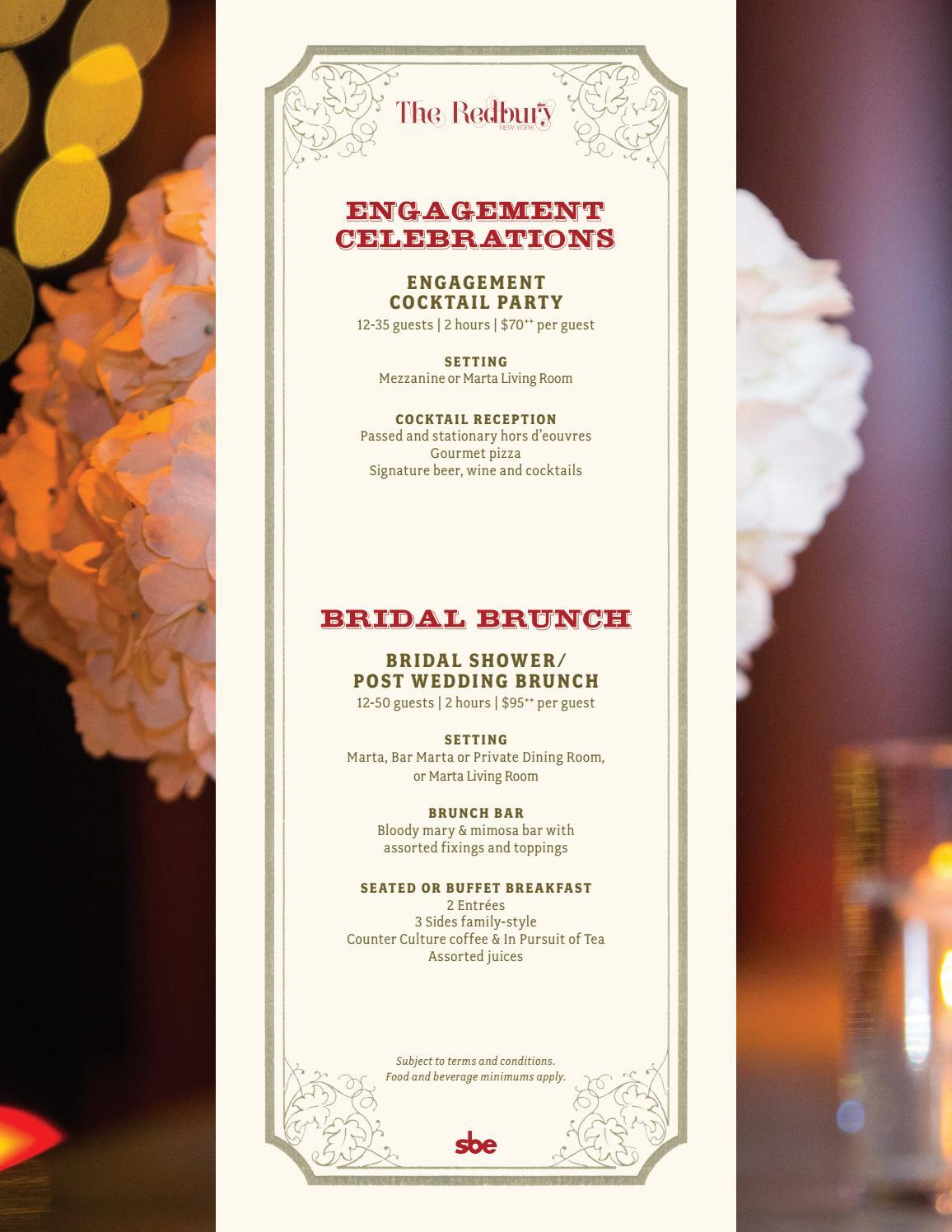 Old Fashioned Family Style Wedding Reception Menu Ensign Wedding