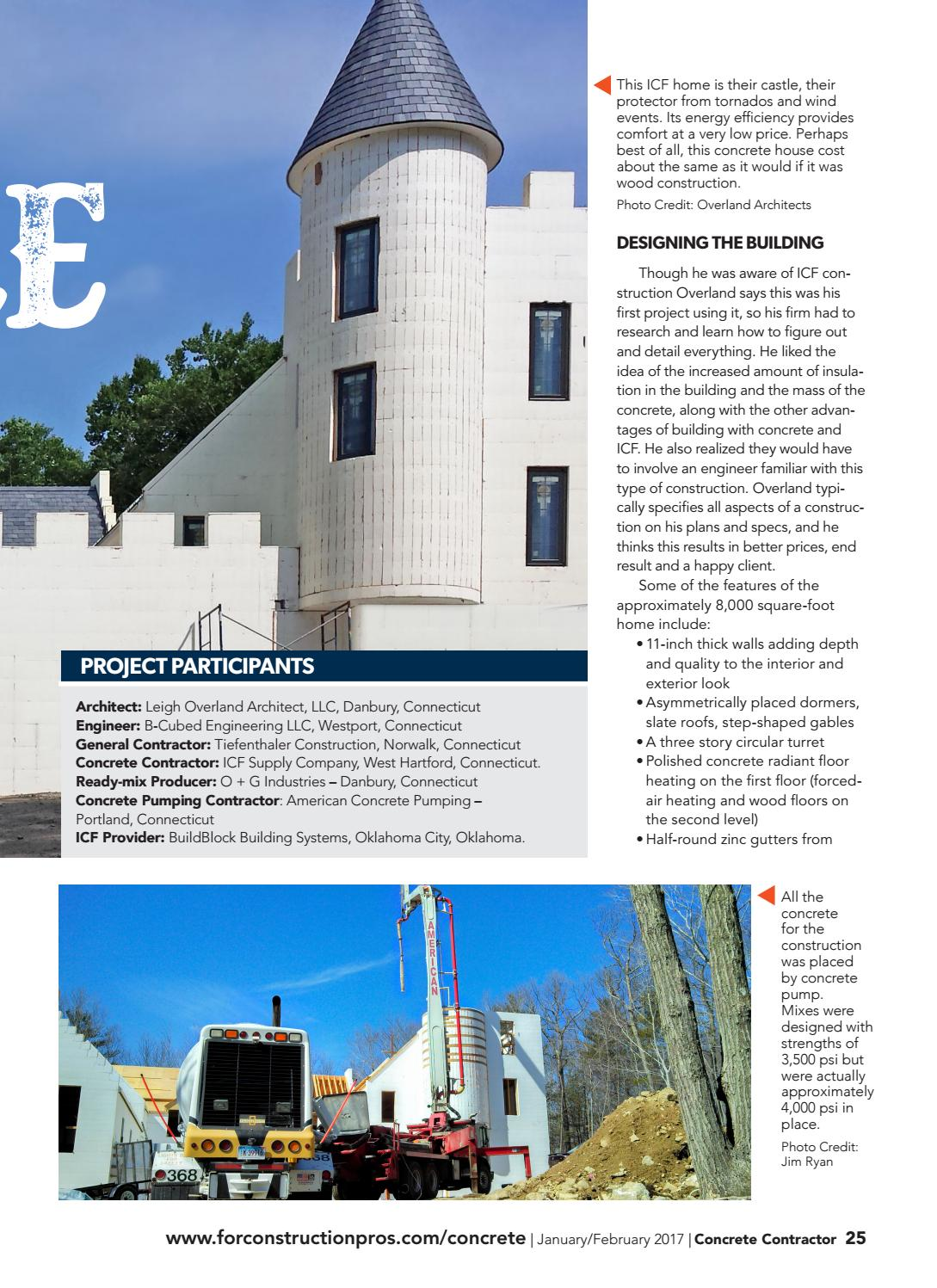 Concrete Contractor January/February 2017 by ForConstructionPros com