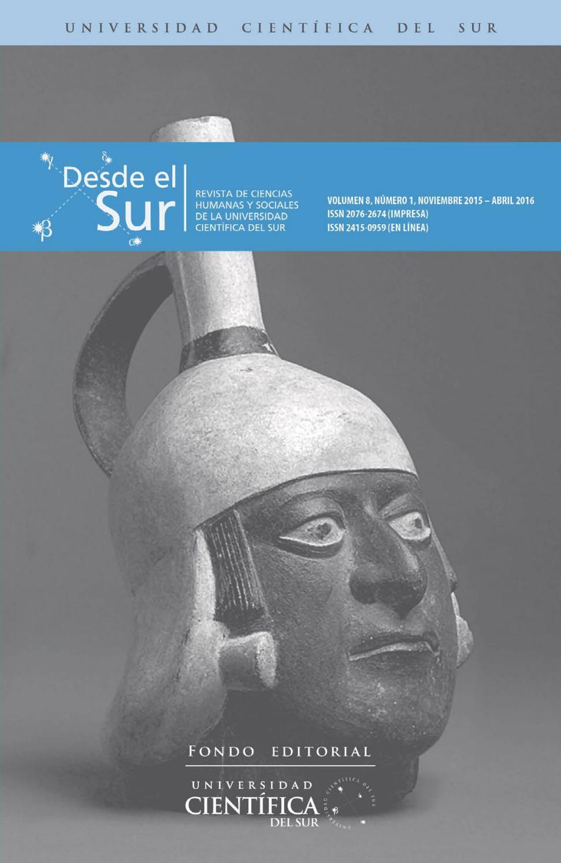 Desde el sur vol 8 n° 1 by Biblioteca Cientifica - issuu 93b980910eb46