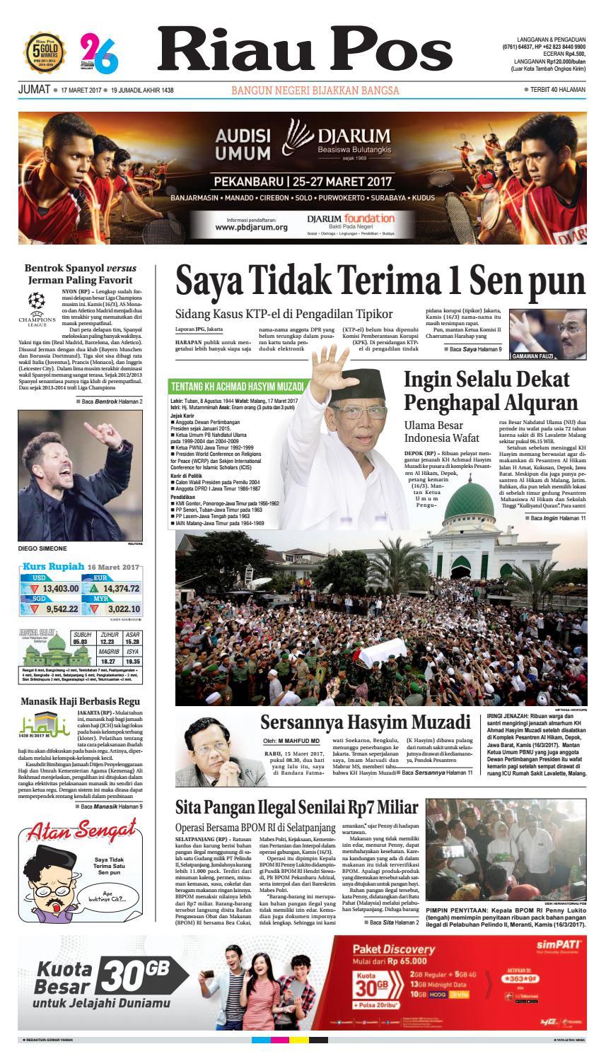 2017 03 17 By Riau Pos Issuu