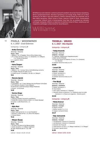 Bill Williams je solo trobentač v svetovno priznanih zasedbah 16355d9c80e