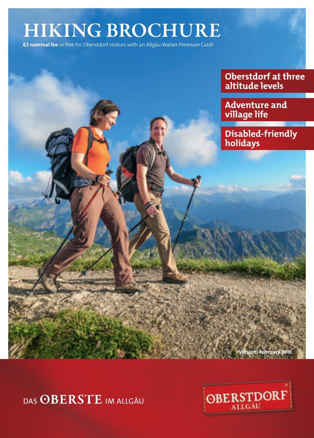Oberstdorf Hiking Brochure 2017 by Tourismus Oberstdorf - issuu