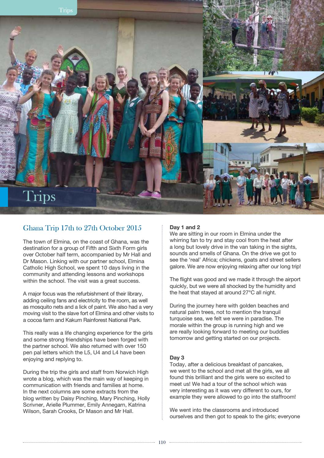 Norwich High School for Girls School Magazine 2015/16 by
