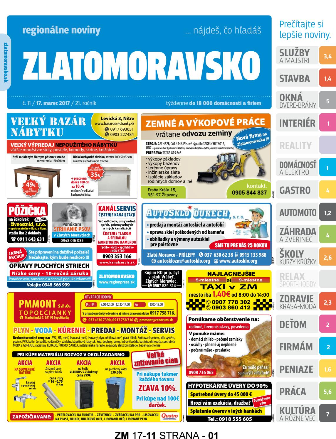 4dc9ca9be Zlatomoravsko 17 11 by Zlatomoravsko - issuu