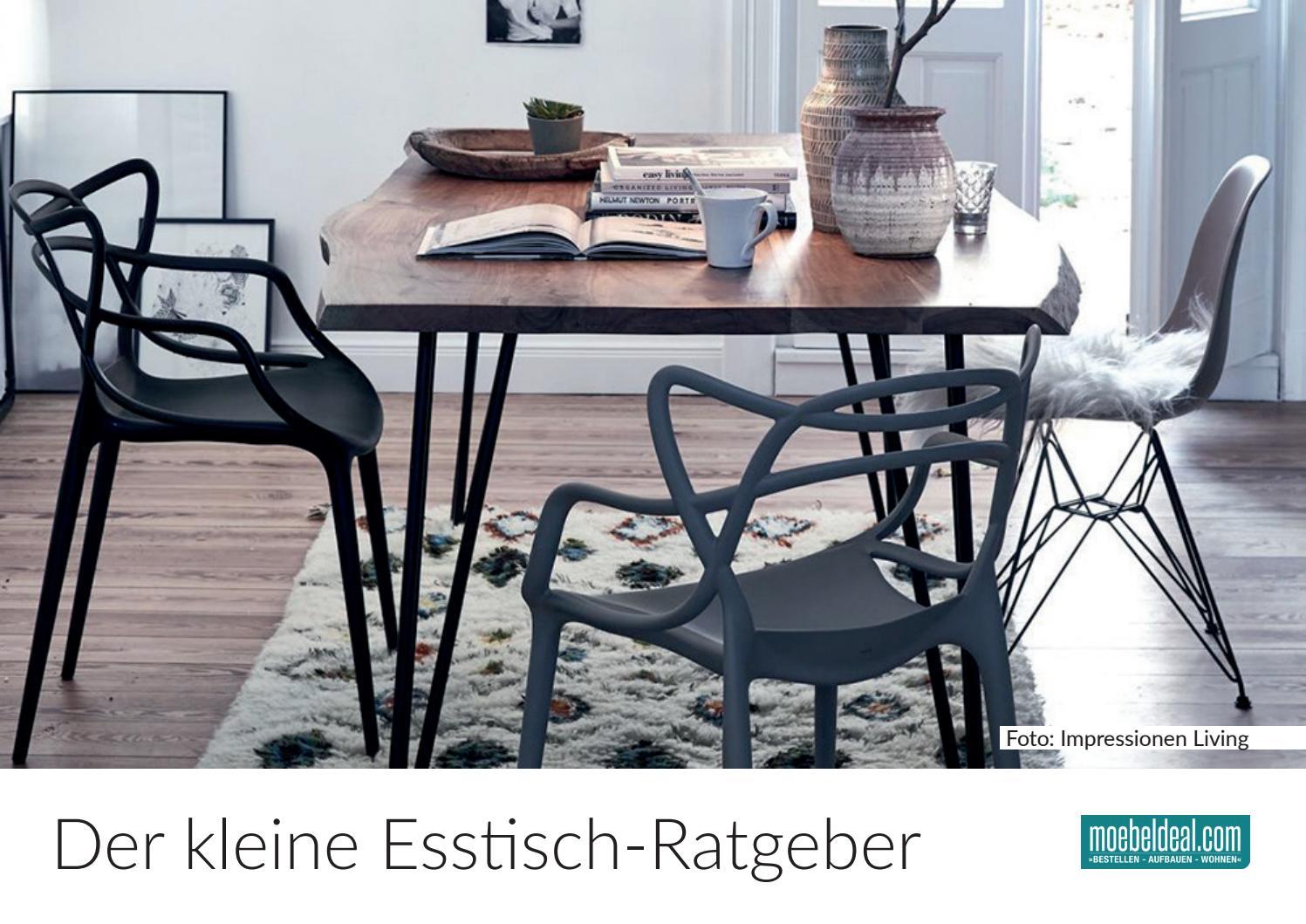 Der kleine Esstisch-Ratgeber von moebeldeal.com by moebeldeal - issuu