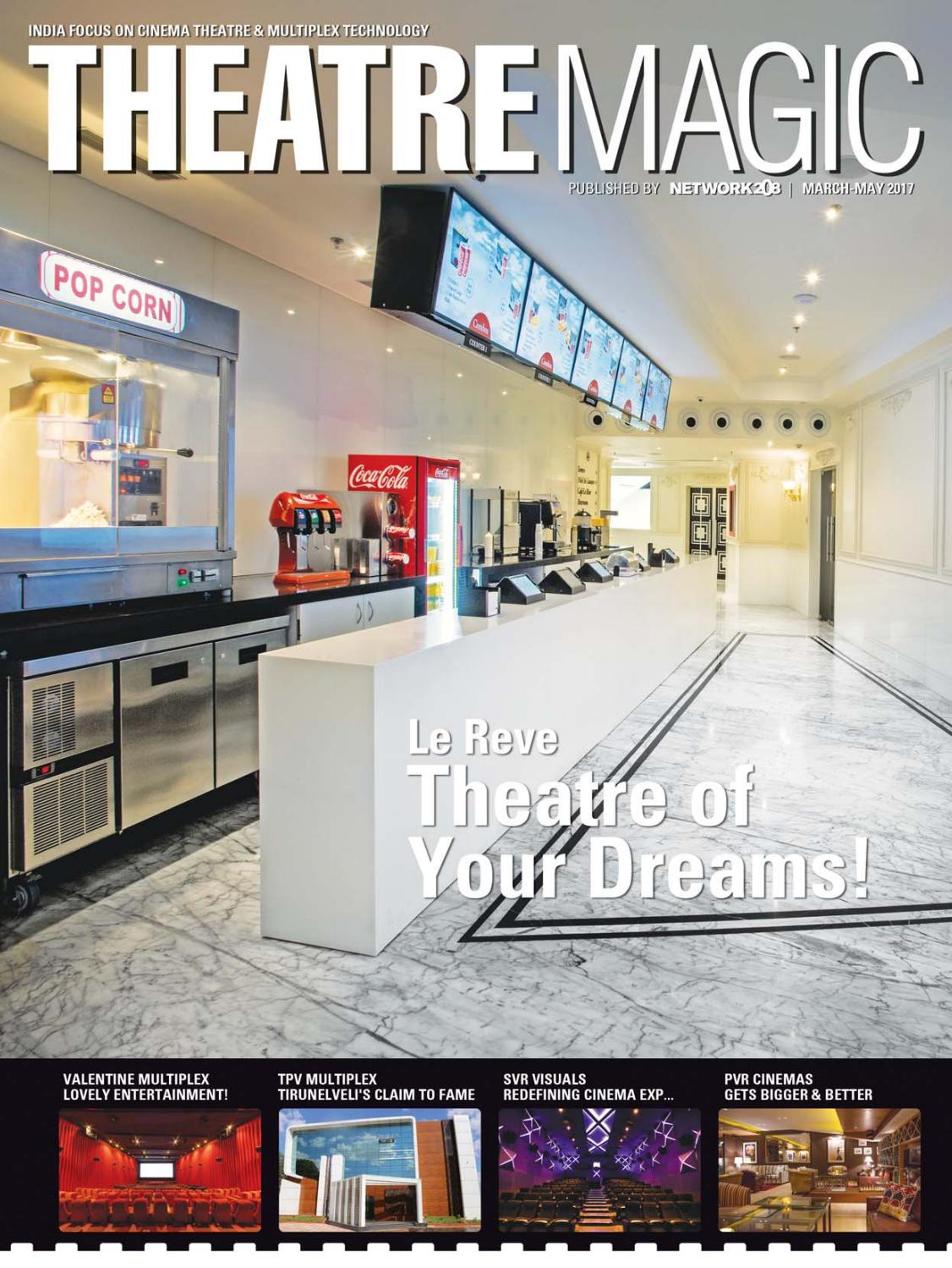 TheatreMagic ::: March-May 2017 by Network208 - issuu