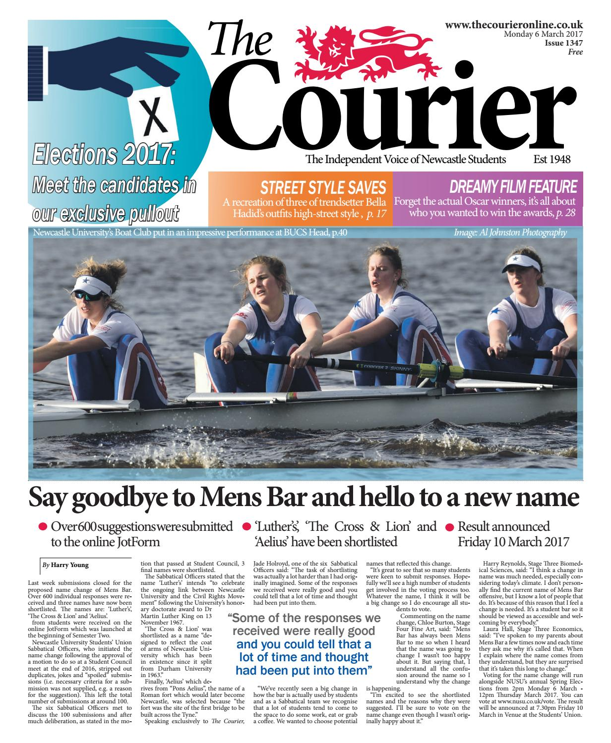 2296bf9f16 Courier 1347 by The Courier Online - issuu