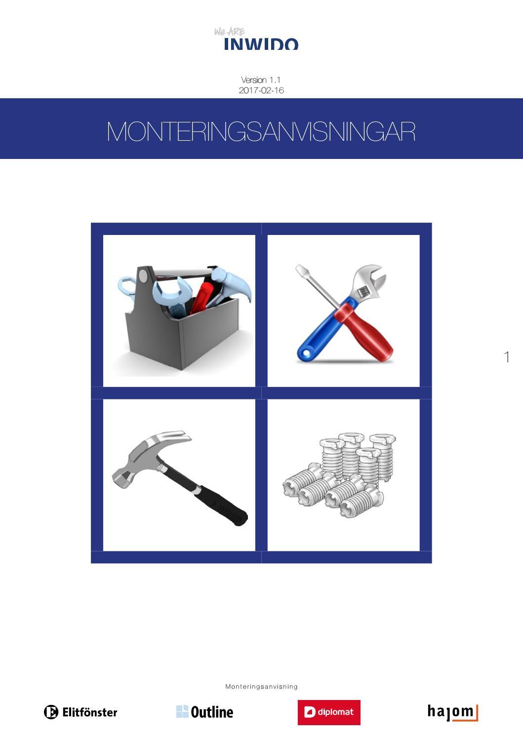Monteringsanvisningar inwido by Inwido Sverige - issuu