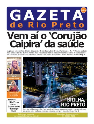 Gazeta de Rio Preto - 17 03 2017 by Social Light - issuu 3efce8d4643