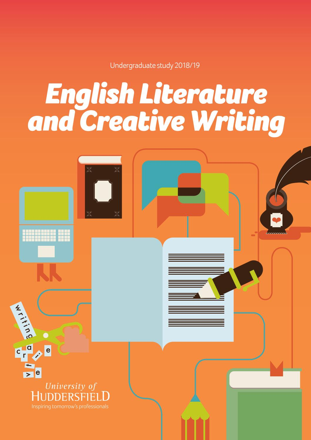 english literature and creative writing degrees