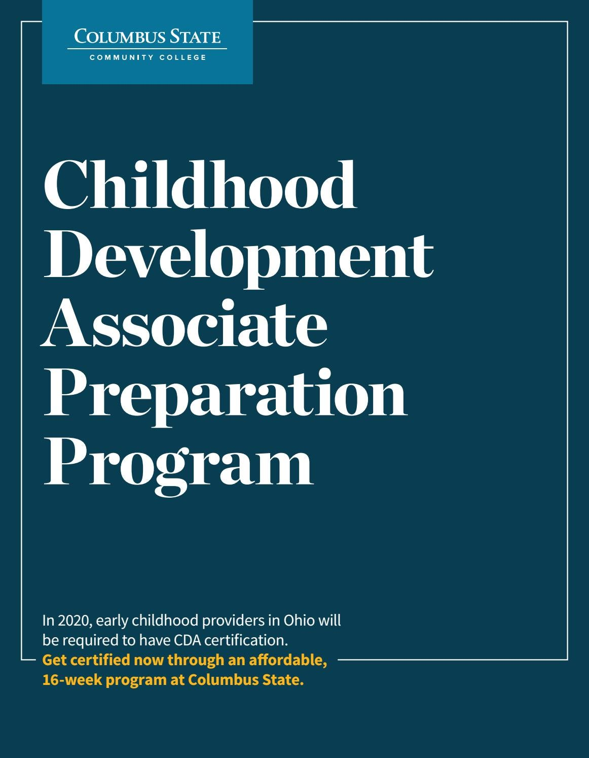 Child development associate cda credential by tony goins issuu 1betcityfo Choice Image