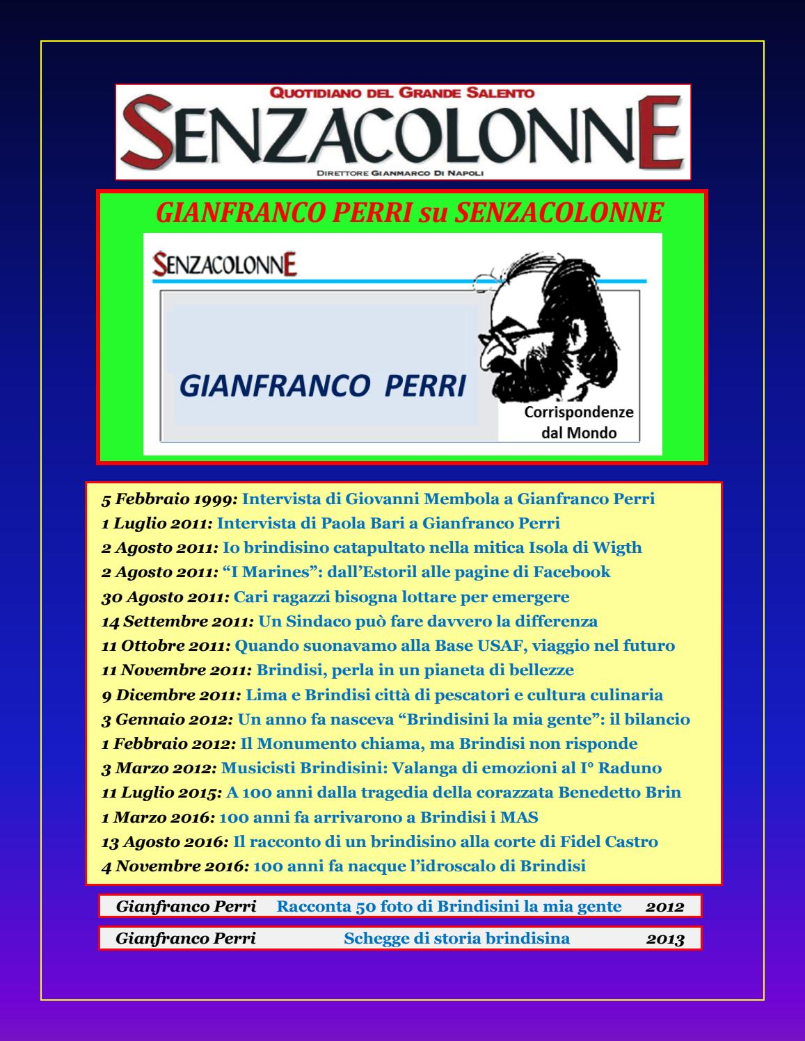 bf04589044 Gianfranco Perri su Senzacolonne by Gianfranco Perri - issuu