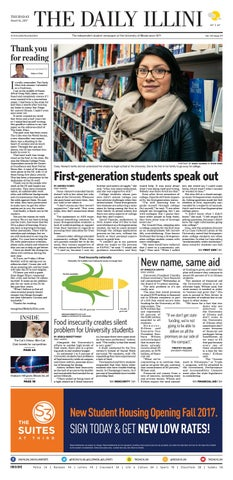 The Daily Illini: Volume 146 Issue 49 by The Daily Illini