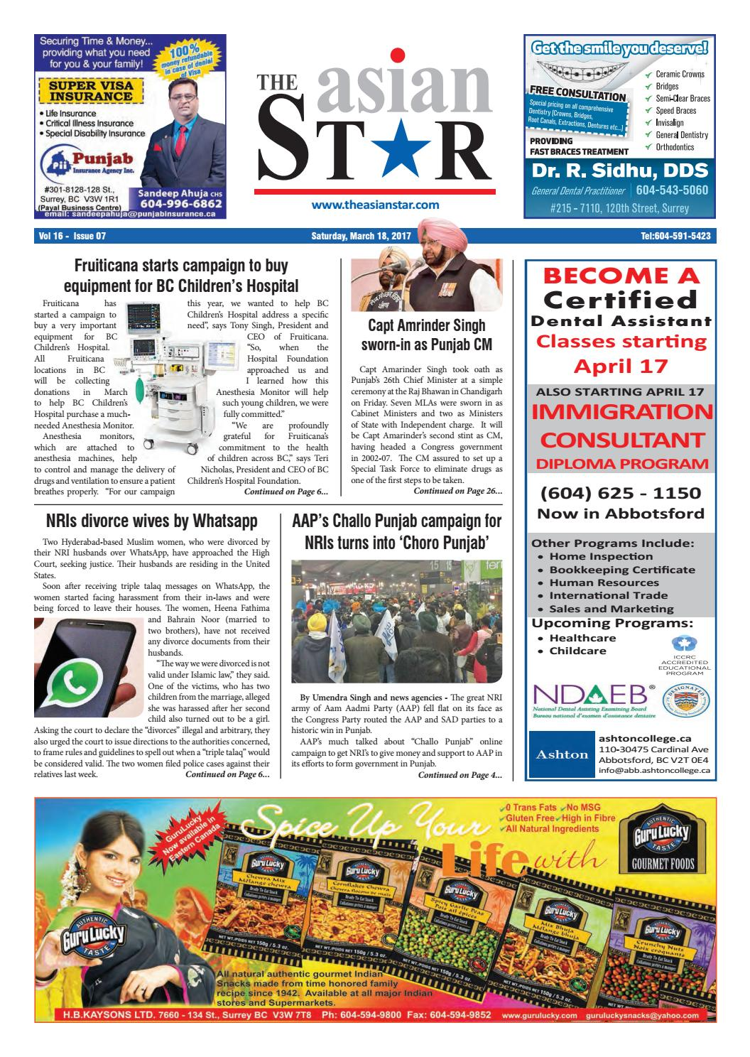 Asian Star - March 18, 2017 by The Asian Star Newspaper - issuu