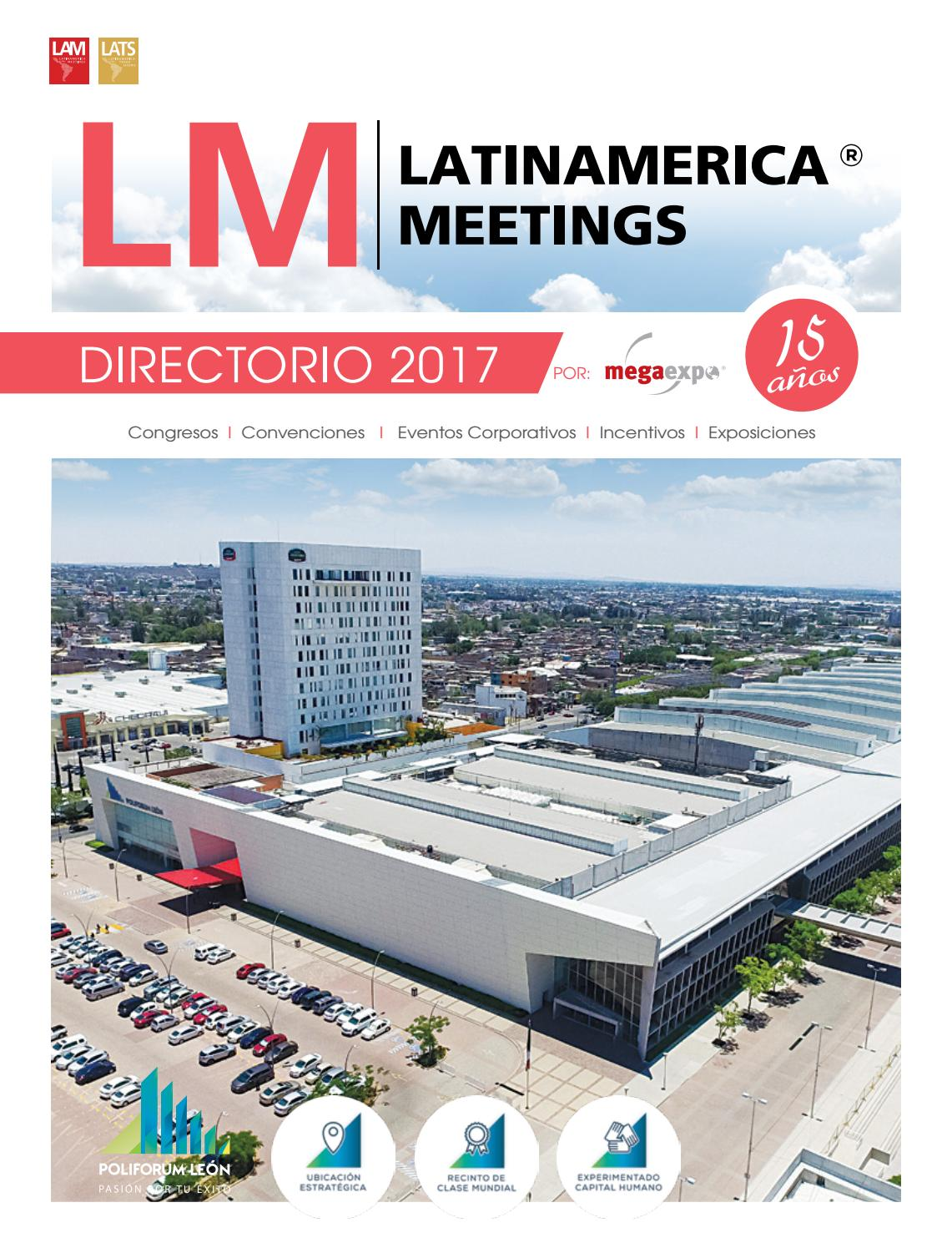 Directorio 2017 by Latinamerica Meetings - issuu be7596480c71c