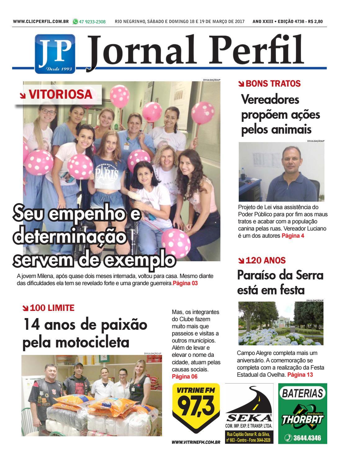 9872af3cb0fda Jornal perfil 18 03 2017 by Jornal Perfil - issuu