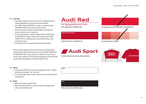 audi brand guidelines by lukasz kulakowski issuu rh issuu com audi branding guidelines audi branding guidelines