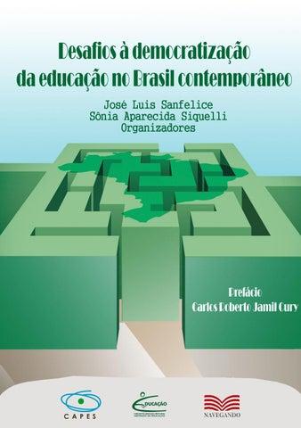 Desafios à democratização da educação no Brasil contemporâneo by ... 72958703b755f