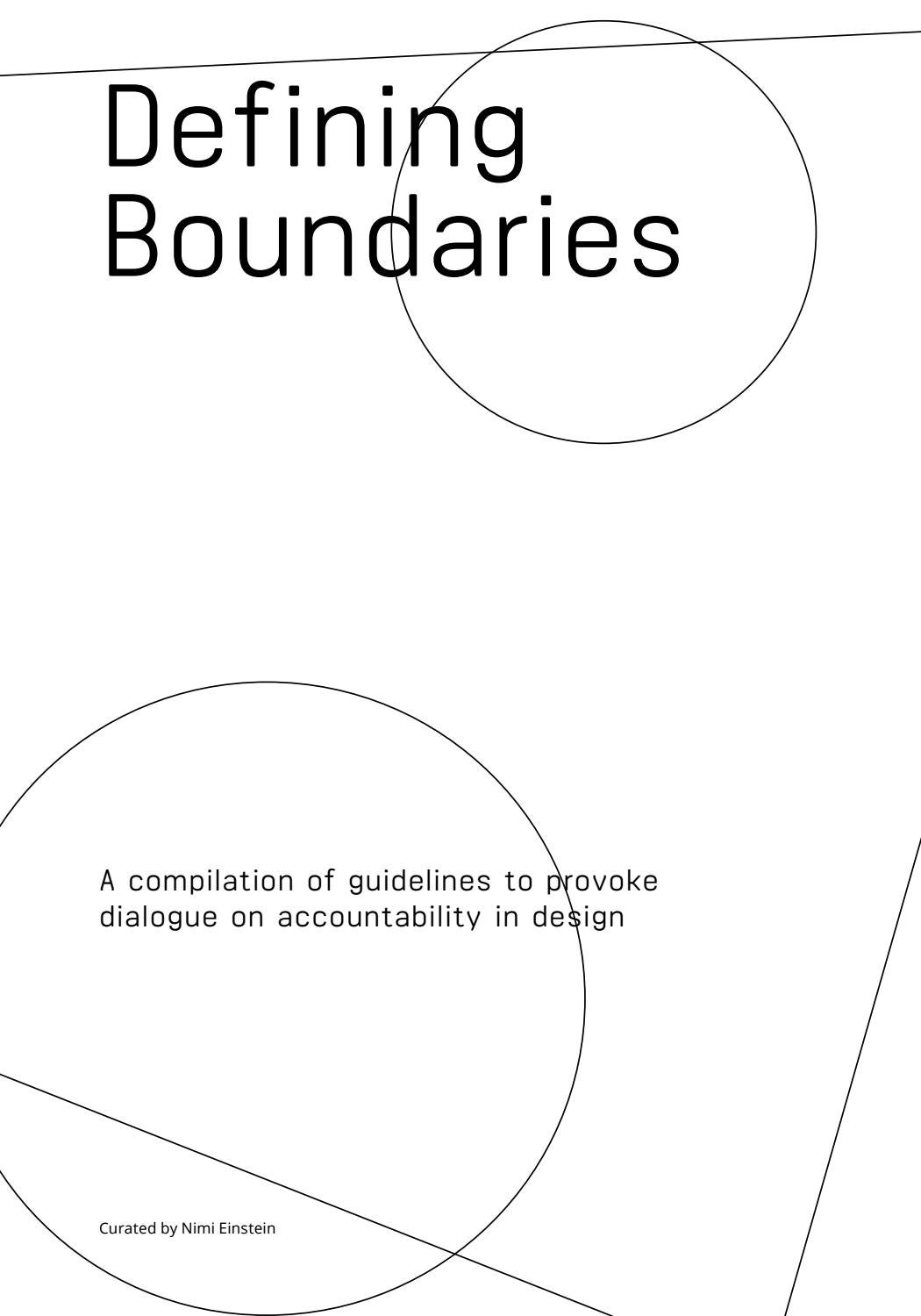 Defining boundaries 2017 by nimi einstein issuu pooptronica
