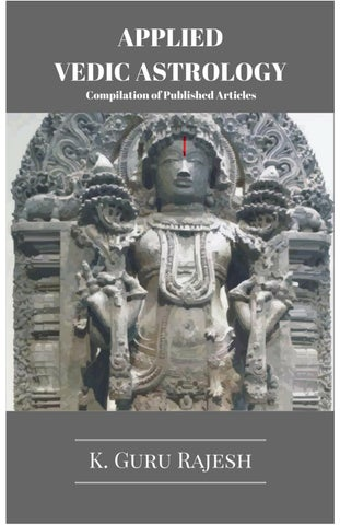Appled vedic astrology e book text by Tathagata tarkajwin - issuu